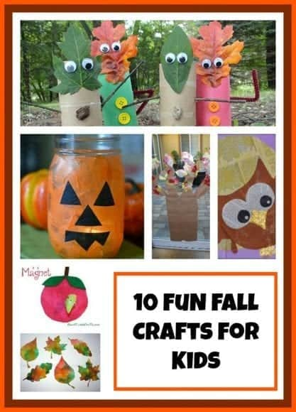 10 fun fall crafts for little kids redheaded patti for Crafts for little kids