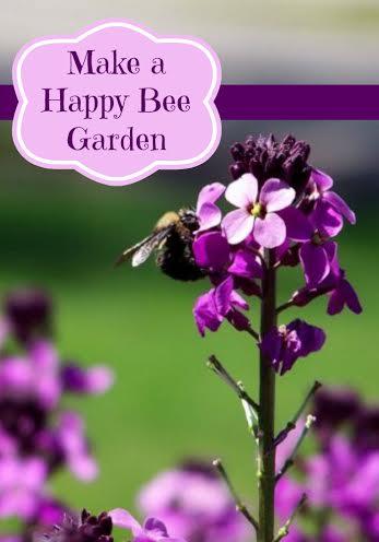 Make A Happy Bee Garden