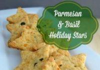Parmesan & Basil Holiday Stars Recipe