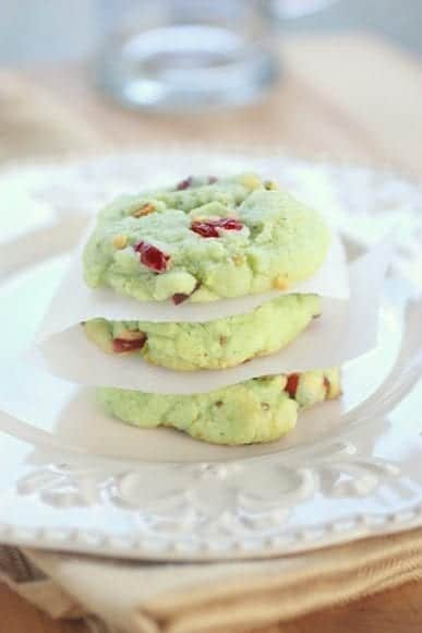 Cranberry & Pistachio cookies #Recipe