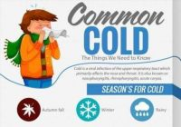 The Common Cold - Things you need to know #Infographic
