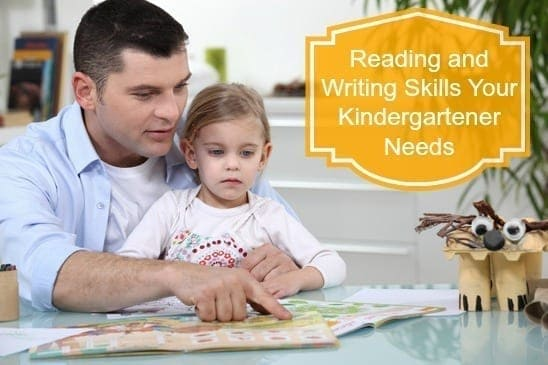 Reading and Writing Skills Your Kindergartener Needs