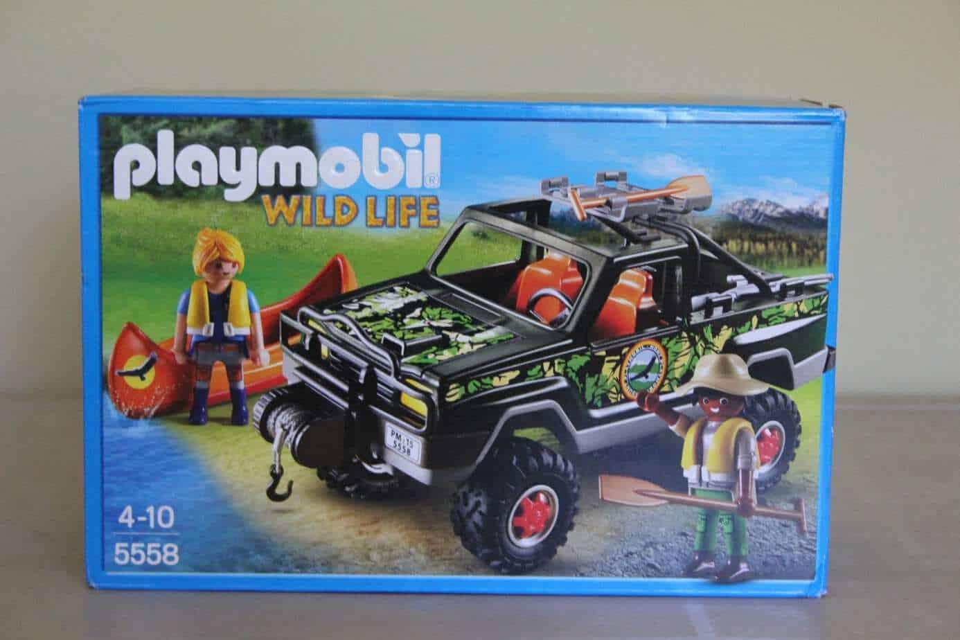 The @Playmobil Wildlife Adventures 4 x 4 – review