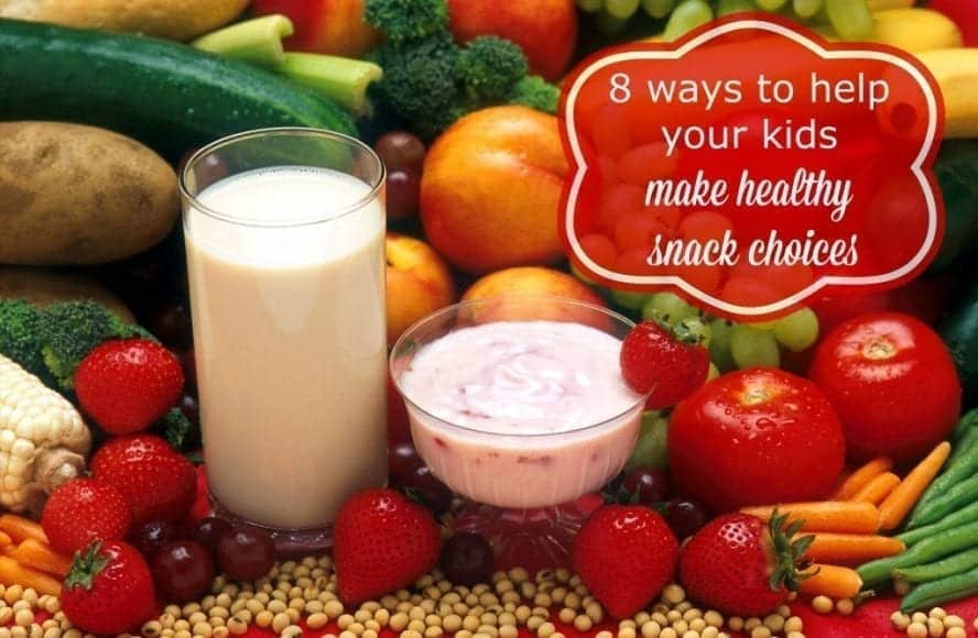 Make healthy snack choices