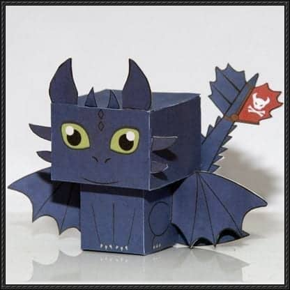 Toothless-Cube-Craft