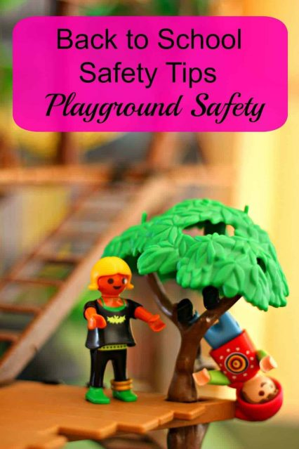 #Backtoschool safety tips – playground safety