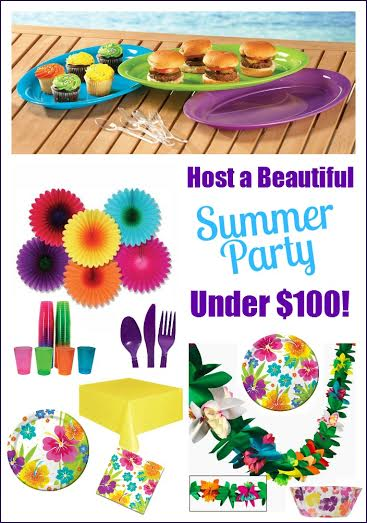 Host a tropical summer party – the complete party planning guide