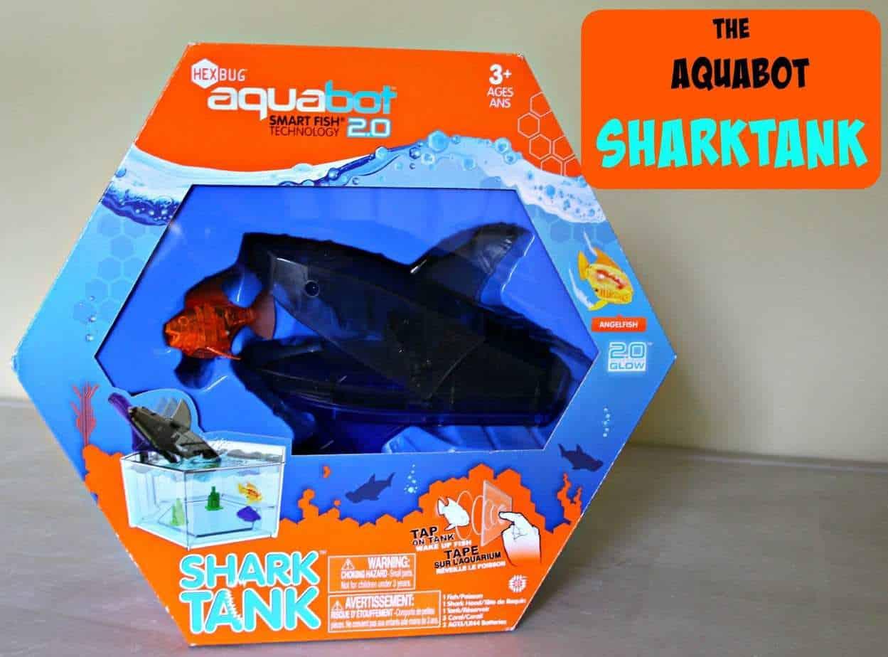 The #Aquabot Shark Tank 2.0 By @HEXBUG #Review
