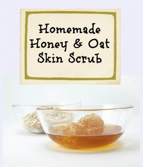 1 Honey & Oat Skin Scrub Title