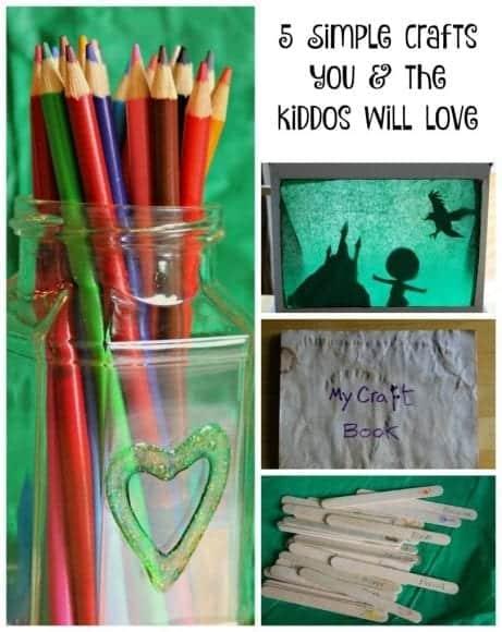 5 Simple Crafts title
