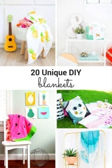 25 DIY Blankets to Give as Gifts or Keep Forever