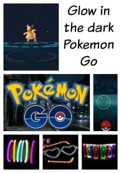 Pokemon Go – Glow in the Dark Adventures