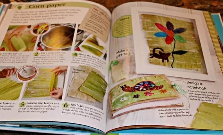Outrageously Easy Outdoor Crafts  @DKCanada Book #Review & #Craft