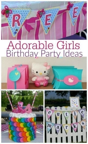 15 Adorable Girls Birthday Party Ideas You'll Want to Use This Year