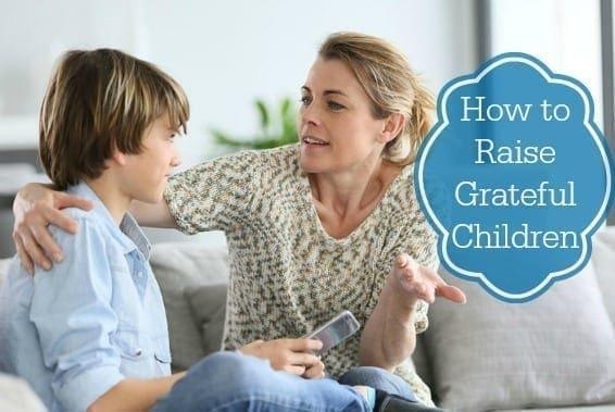 Raising Grateful Children #HowTo
