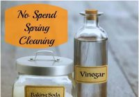 No Spend Spring Cleaning #HowTo