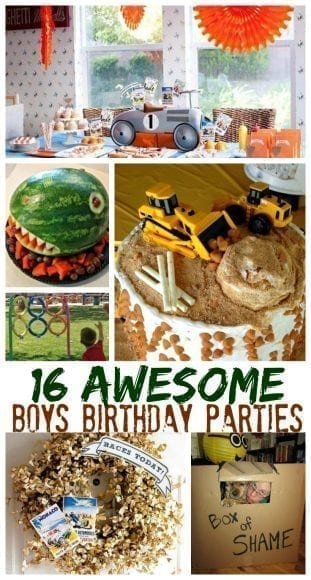16 Boys Birthday Parties Your Kids Will Love