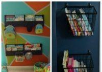 18 DIY Kids Room Storage Ideas