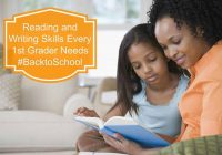 Reading and Writing Skills Every 1st Grader Needs  #BacktoSchool