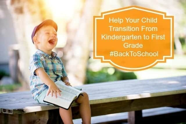 Help Your Child Transition From Kindergarten to First Grade #BackToSchool