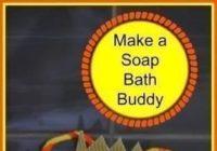 Make a Soap Bath Buddy #Craft