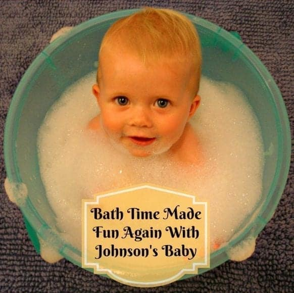Bath Time Made Fun Again With Johnson's Baby #Sponsored