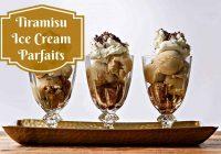 Tiramisu Ice Cream Parfait #Recipie