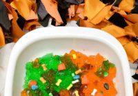 Make An Edible Halloween Sensory Bin
