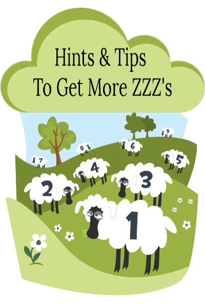 Sleep: Hints And Tips To Get More ZZZ's – Inforgraphic
